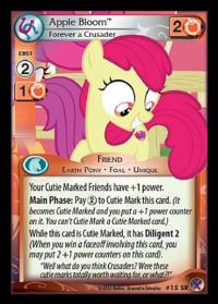 my little pony marks in time apple bloom forever a crusader