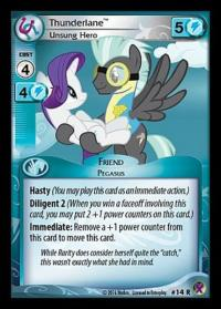my little pony marks in time thunderlane unsung hero