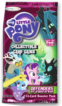 my little pony my little pony sealed product defenders of equestria booster pack