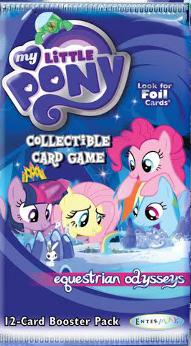 my little pony my little pony sealed product equestrian odysseys booster pack