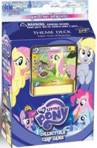 my little pony my little pony sealed product equestrian odysseys taking care of business theme deck