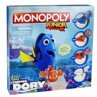 other games board games monopoly junior disney pixar finding dory edition