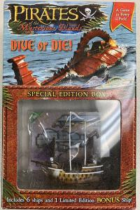 pirates wizkids pirates boxes and packs dive or die special edition box empty sky