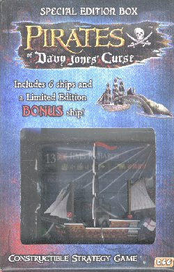 Pirates of Davy Jones Curse Special Edition HMS Richards Box