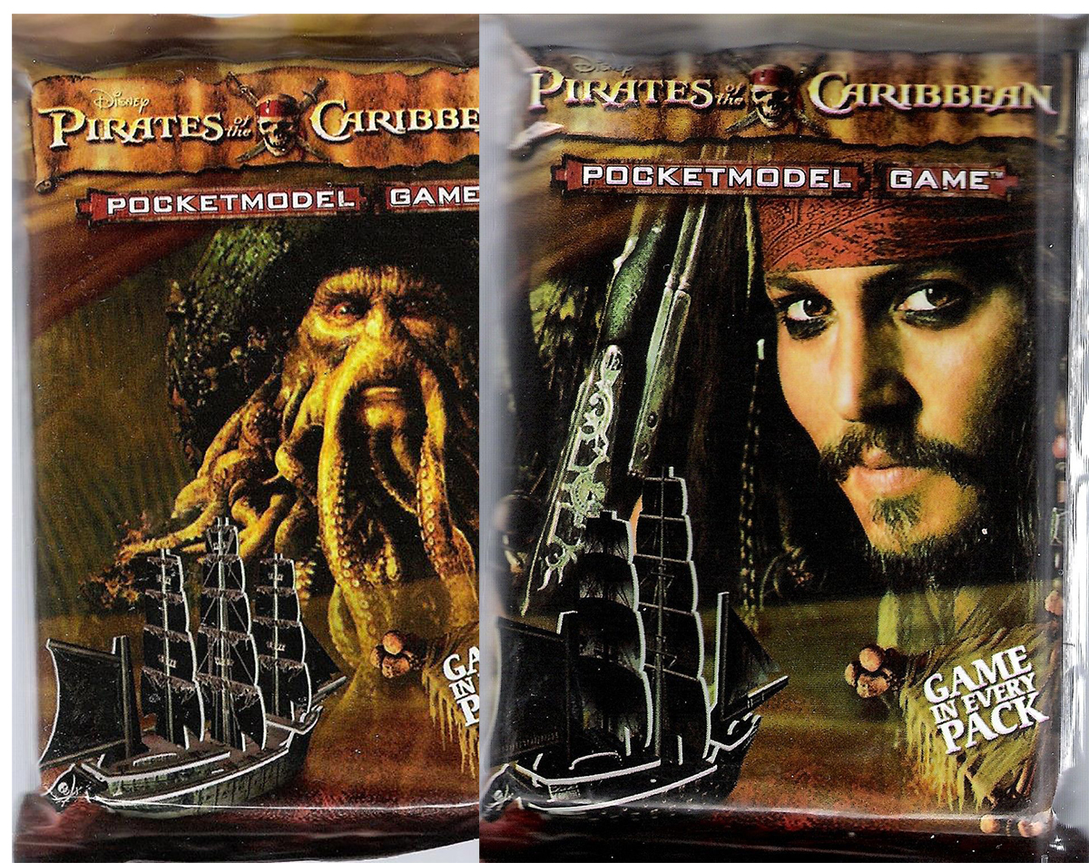Pirates of the Caribbean Booster Pack