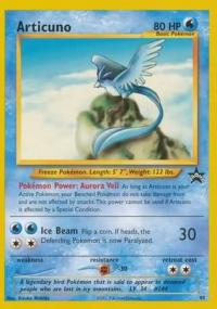 pokemon 1wizards of the coast promos articuno 48