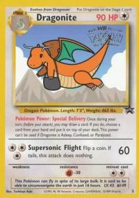 pokemon 1wizards of the coast promos dragonite 5