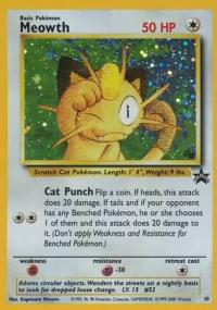 pokemon 1wizards of the coast promos meowth 10 sealed
