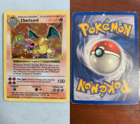 pokemon base set shadowless charizard 4 102 holo rare shadowless check photo