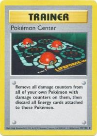 pokemon base set shadowless pokemon center 85 102 shadowless