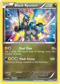 pokemon black white promos black kyurem bw58