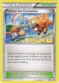 pokemon black white promos champions festival bw95 portuguese worlds 13 promo festival dos campeoes