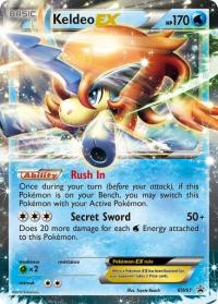 pokemon black white promos keldeo bw61