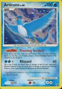 pokemon d p majestic dawn articuno 1 100