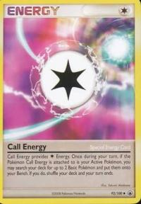 pokemon d p majestic dawn call energy 92 100