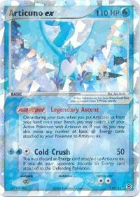 pokemon ex firered leafgreen articuno ex 114 112