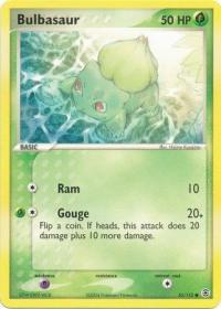 pokemon ex firered leafgreen bulbasaur 55 112