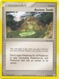 pokemon ex hidden legends ancient tomb 87 101