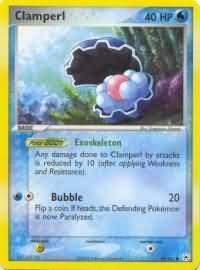 pokemon ex hidden legends clamperl 58 101