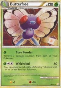 pokemon heartgold soulsilver butterfree 16 123