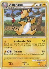 pokemon hgss call of legends ampharos 23 95