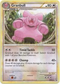 pokemon hgss call of legends granbull 26 95