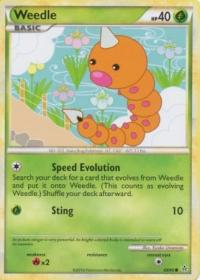 pokemon hgss unleashed weedle 69 95