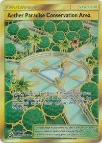 pokemon hidden fates aether paradise conservation area sv87 sv94