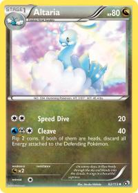 pokemon legendary treasures altaria 92 113