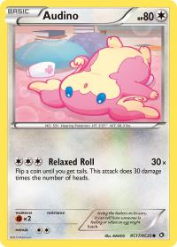 pokemon legendary treasures audino rc17 rc25