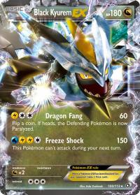 pokemon legendary treasures black kyurem ex 100 113