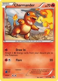 pokemon legendary treasures charmander 17 113