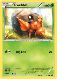 pokemon legendary treasures dwebble 13 113