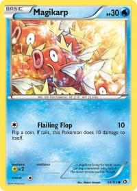 pokemon legendary treasures magikarp 30 113