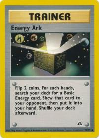 pokemon neo discovery energy ark 75 75