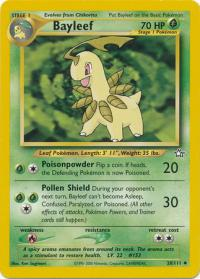 pokemon neo genesis bayleef 28 111