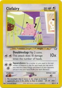 pokemon neo genesis clefairy 30 111