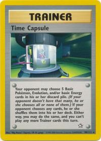 pokemon neo genesis time capsule 90 111
