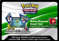pokemon online tcg codes mythical shaymin box collection xy115 code