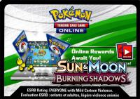 pokemon online tcg codes sm burning shadows online code card