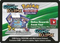 pokemon online tcg codes sm cosmic eclipse online code card
