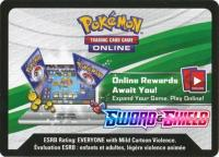 pokemon online tcg codes ss sword shield base set code card