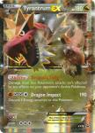 pokemon pokemon promos tyrantrum ex xy70