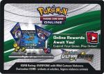 pokemon online tcg codes ultra prism online code card