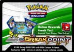 pokemon online tcg codes xy breakpoint code card