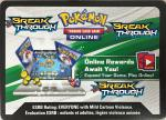 pokemon online tcg codes xy breakthrough code card