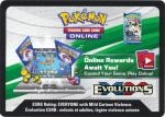 pokemon online tcg codes xy evolutions code card presale
