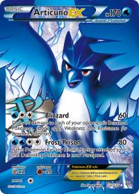 pokemon plasma storm articuno ex full art 132 135