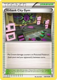pokemon plasma storm virbank city gym 126 135
