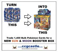 pokemon pokemon boxes and packs 1 400 bulk for box sun moon deal